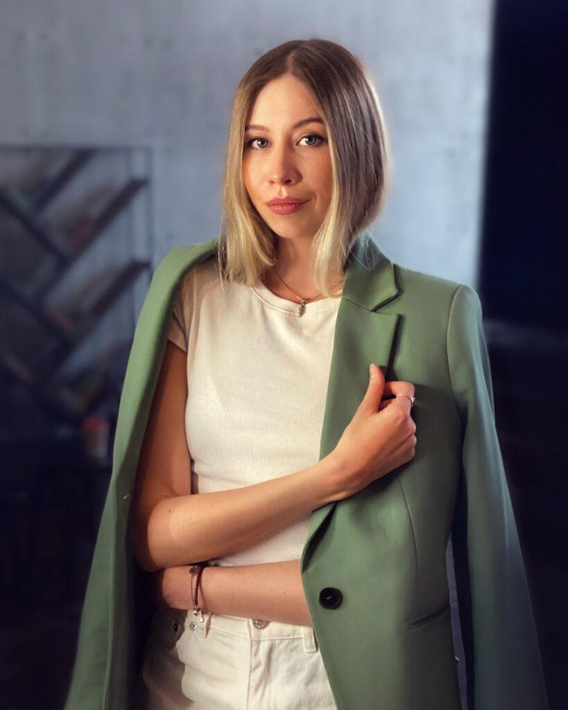 Алиса Шахунова, ведущая трансформационных тренингов